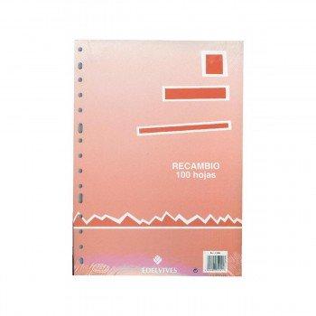 Recambio EDELVIVES Folio 16T 100H 90gr.