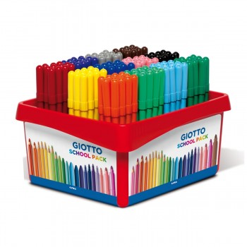 Rotuladores GIOTTO Turbo Color, SchoolPack x144
