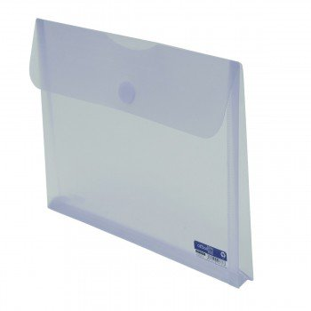 Carpeta Portadocumentos OFFICE BOX, Din-A4+ Fuelle Transparente