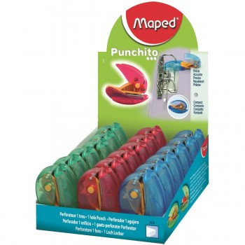 Taladro MAPED Punchito 1 Agujero