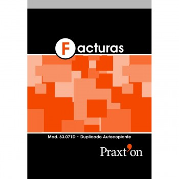 Talonario PRAXTON Facturas Con IVA 4º Natural