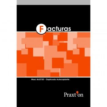 Talonario PRAXTON Facturas Con IVA Fº Natural Duplicado