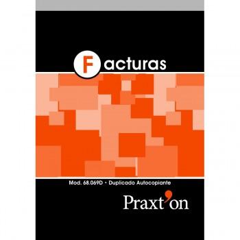 Talonario PRAXTON Facturas Con IVA 8º