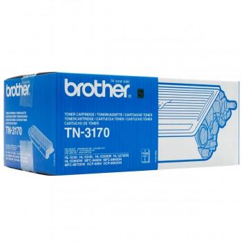 Tóner Impresora BROTHER TN3170 Negro