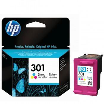 Cartucho Tinta Impresora HP 301 (CH562EE) Tricolor