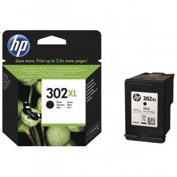Cartucho Tinta Impresora HP 302XL (F6U68AE) Negro