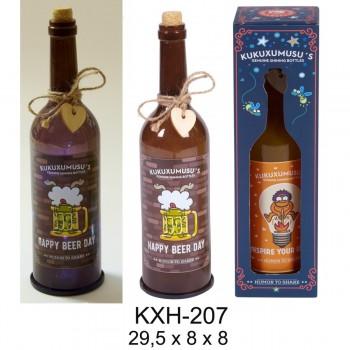 Botella Luz KUKUXUMUSU Happy Beer