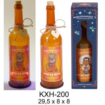 Botella Luz KUKUXUMUSU