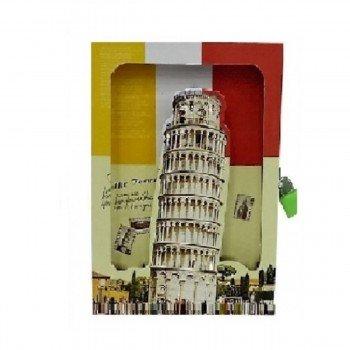 Diario SORT Caja Troquelada, Países Torre Pisa