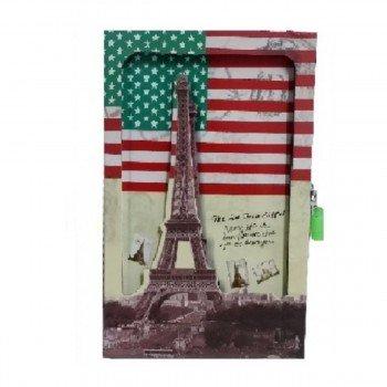 Diario SORT Caja Troquelada, Países Torre Eiffel