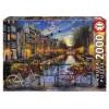 Puzzle EDUCA 2000 Piezas, Ámsterdam