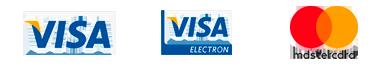 Visa, Visa Electrón, MasterCart
