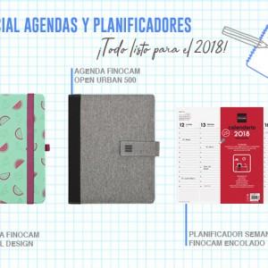 Prepara el 2018 con nuestras agendas y planificadores