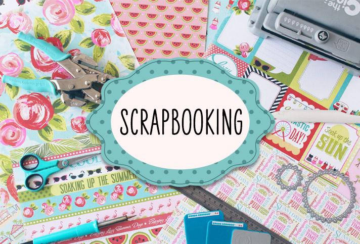 ¡Es hora de organizar tus fotos, es hora de scrapbooking!