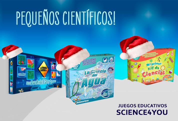 Esta Navidad regala juegos para pequeños científicos