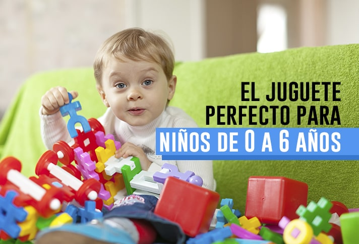 El juguete perfecto para niños de 0 a 6 años