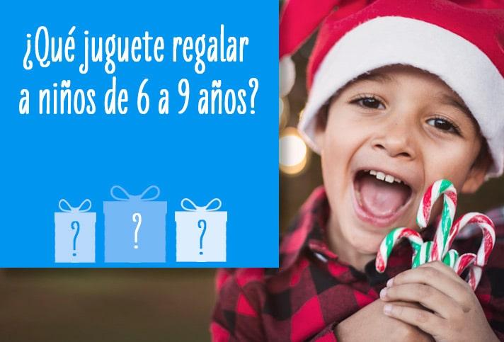 ¿Qué juguete regalar a niños de 6 a 9 años?