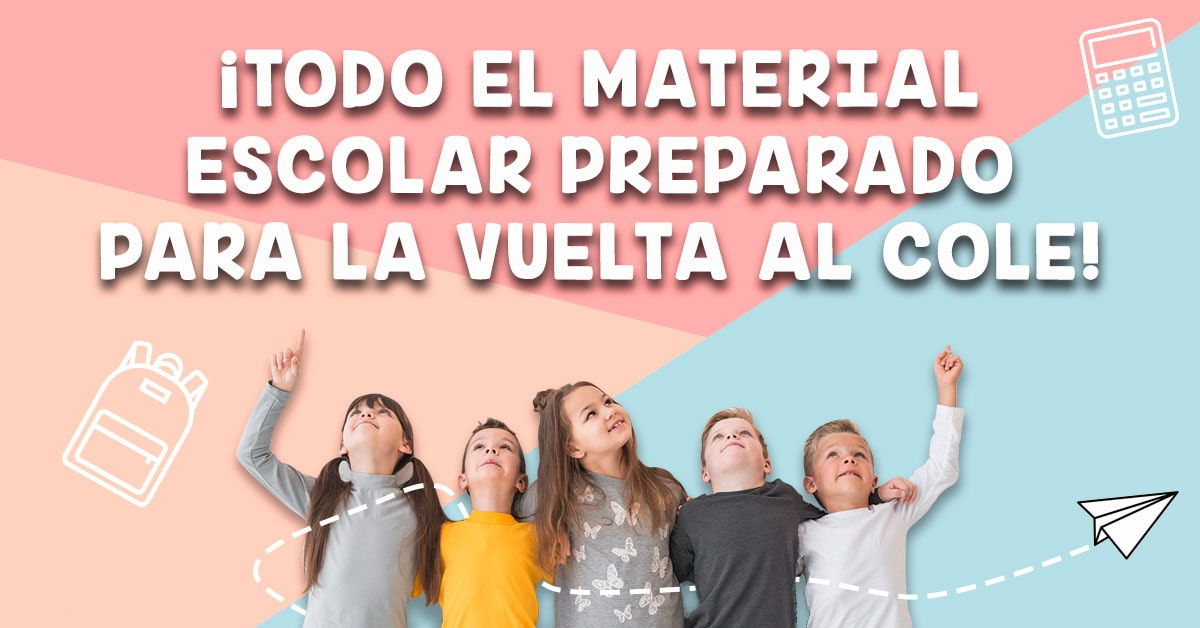 Imprescindibles para la Vuelta al Cole ¡Prepara todo el material escolar!
